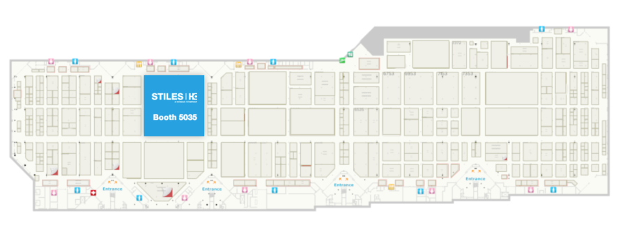 IWF 2018 Show Floor Map