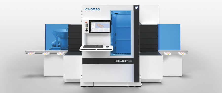 DRILLTEQ V-500 Vertical CNC Processing Centers