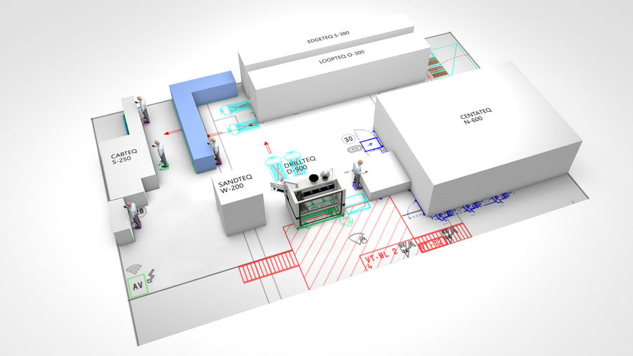 LIGNA Networked Production