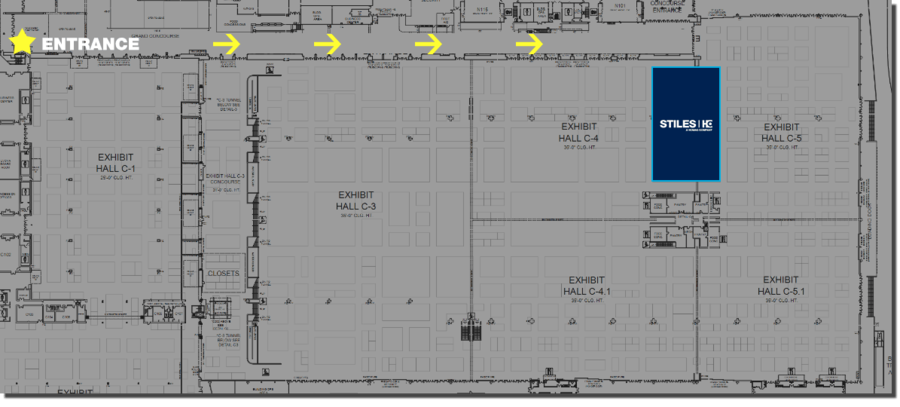AWFS 2019 BOOTH MAP