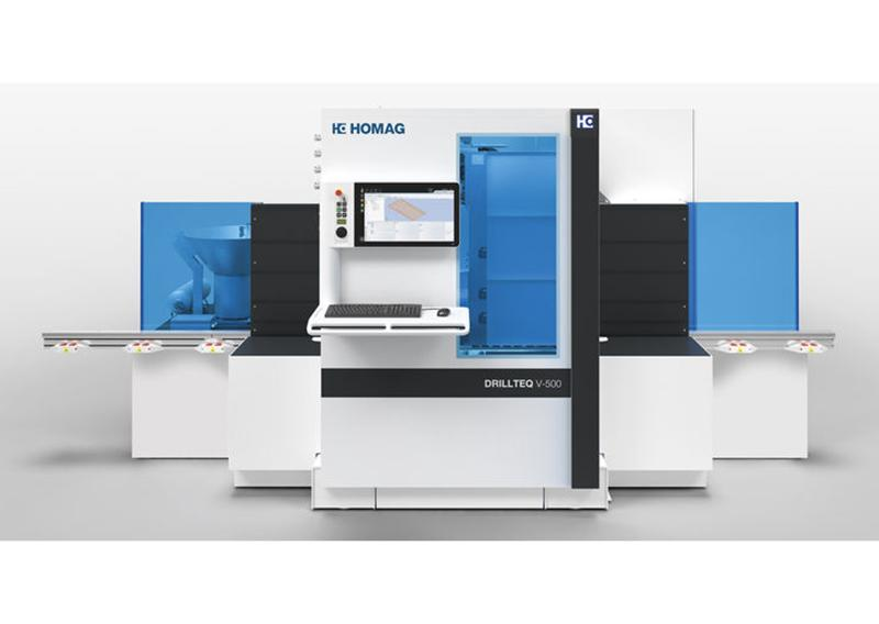 DRILLTEQ V-500 Vertical CNC Processing Center