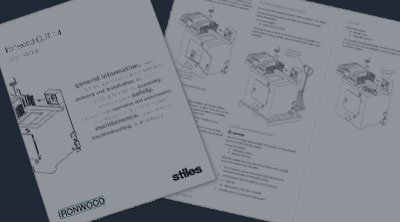 Stiles Equipment Manuals
