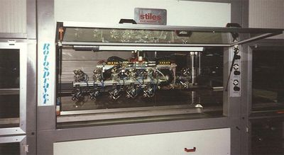 Surface finishing machine