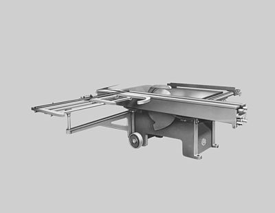 Altendorf Sliding Table Saw - 1949