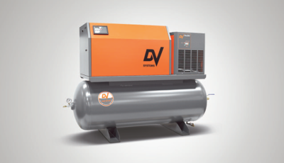 B Series AirSystem 5HP Rotary Screw Air Compressor