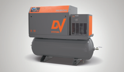 Huron B10 AirSystem 10HP Variable Speed, Direct Drive Rotary Screw Air Compressor