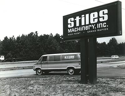 Stiles Machinery in 1983
