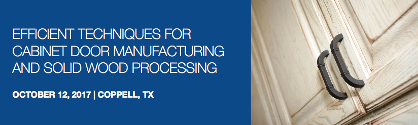 LL Join us on Thursday, October 12, to learn the latest in cabinet door manufacturing