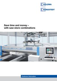 Holzma/Bargstedt save time and money with saw-store combinations