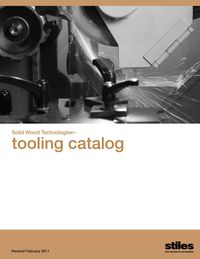 Solid Wood Technologies Tooling Catalog (cover)