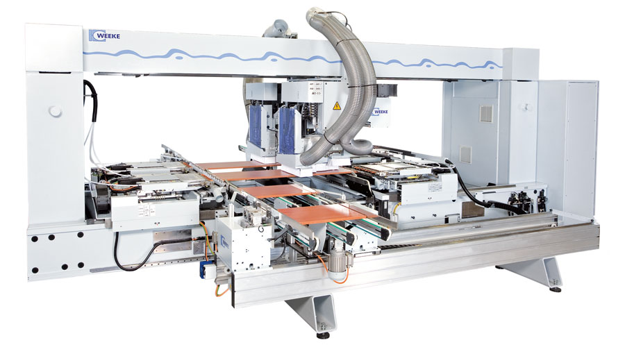 Weeke BHT Series – CNC Gantry Processing Centers