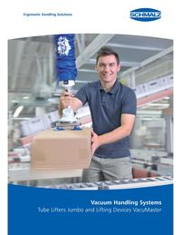 Schmalz Vacuum Lifts Main Brochure Lit