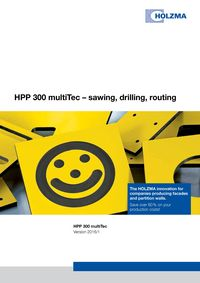 HPP 300 multiTec sawing, drilling, routing