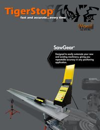 TIGERSTOP, SAWGEAR WOOD BROCHURE