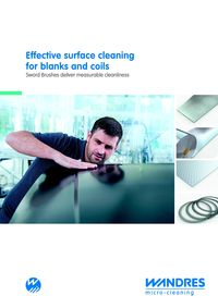 Wandres, Effective Surface Cleaning For Blanks And Coils Literature