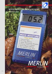 MERLIN, HM8 NONDESTRUCTIVE MOISTURE MEASUREMENT LITERATURE