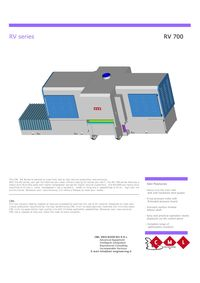 CML MODEL RV 700 RIP SAW PRODUCT SHEET