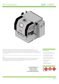 CML E350R and E350-2R Rip Saw Brochure