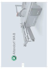Altendorf WA 8 - Spanish Brochure
