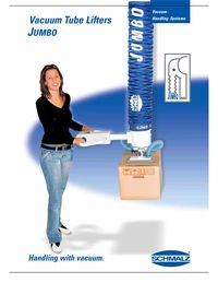Schmalz Vacuum Tube Lifter Brochure