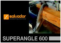 Salvador Superangle 600 Chop Saw Brochure
