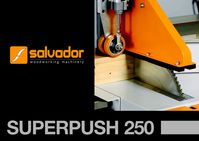 Salvador SuperPush 250 K Chop Saw Brochure