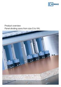 PANEL DIVIDING SAWS FROM S TO XXL
