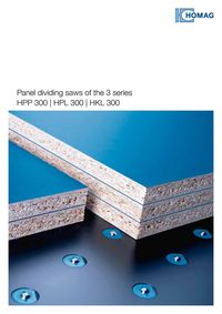 PANEL DIVIDING SAWS OF THE 3 SERIES